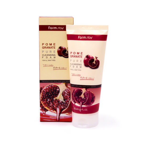FarmStay Pomegranate Pure Cleansing Foam