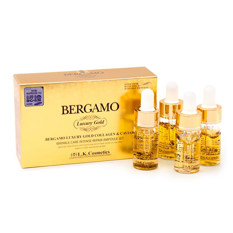 Bergamo Luxury Gold Ampoule Set