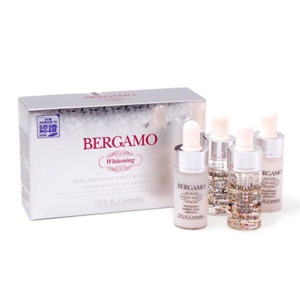 Bergamo Whitening Perfection Ampoule Set