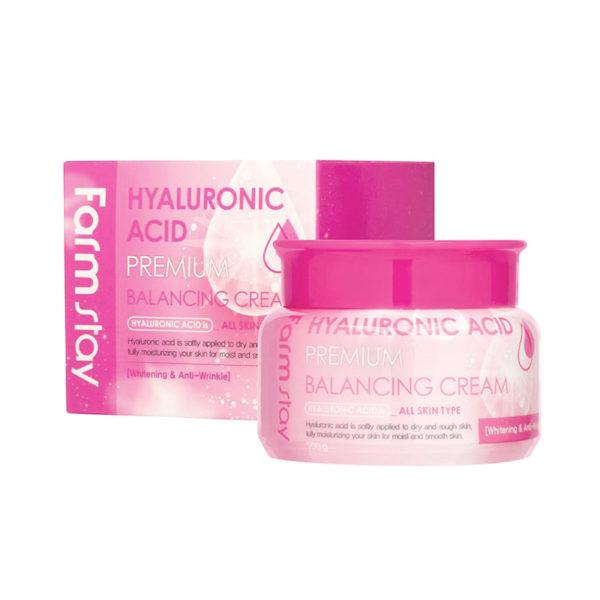 FarmStay Hyaluronic Acid Premium Balancing Cream