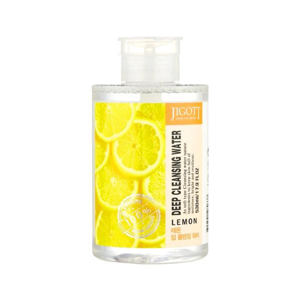Jigott Deep Cleansing Water Lemon